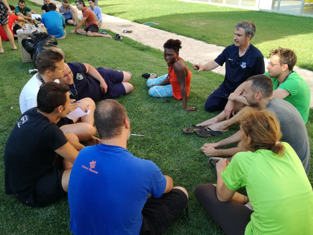 Training to trainers - Rome, June 2017